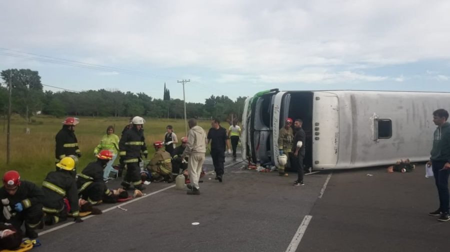 Accidente en Lezama