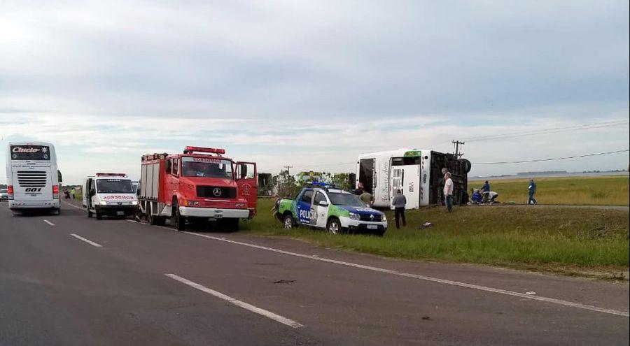 Accidente Ruta 2 otra más 20191128