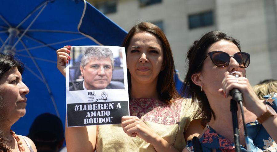 Marcha Presos políticos Tribunales 20191128