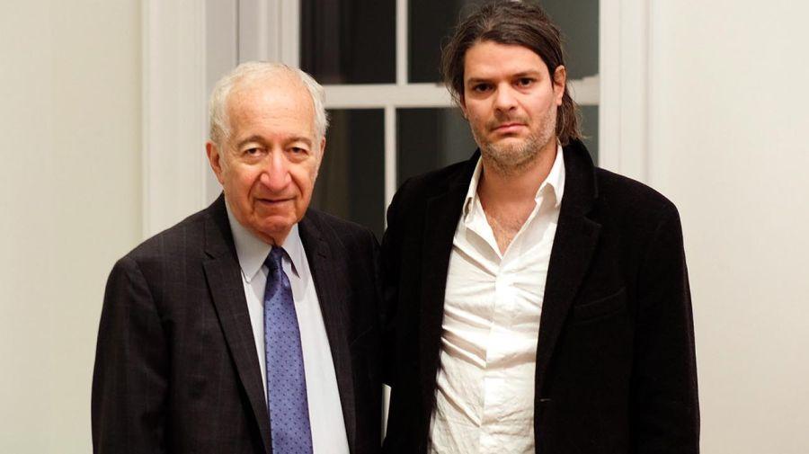 Bernardo Kliksberg y Eduardo Constantini (h) de Kabinett 20191129