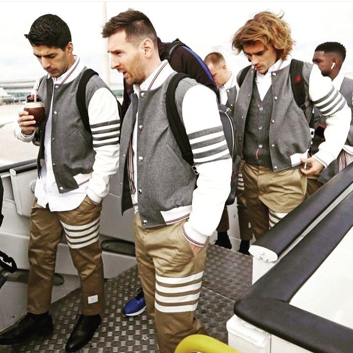 ¡Alerta fashionista! Leo Messi y sus amigos sorprendieron con sus looks