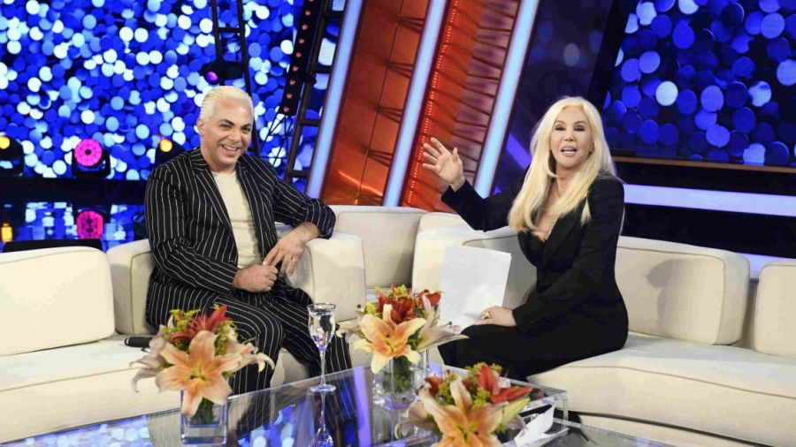 Cristian Castro con Susana