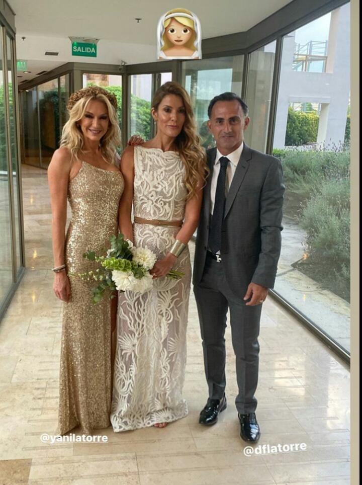 Yanina y Diego Latorre se mostraron juntos tras su comentada separación