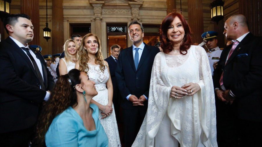 cristina kirchner asume alberto fernandez g_20191210