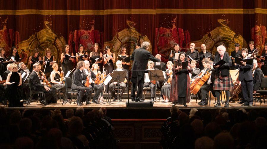 El concierto fue organizado por el Hospital Británico en el marco de su 175° aniversario.