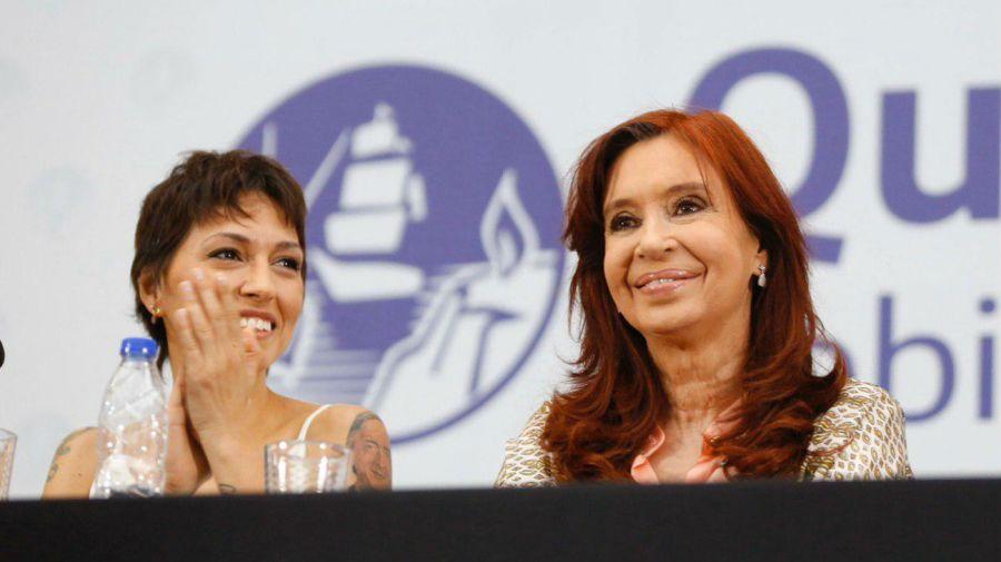 Cristina Kirchner participó de la jura de Mayra Mendoza