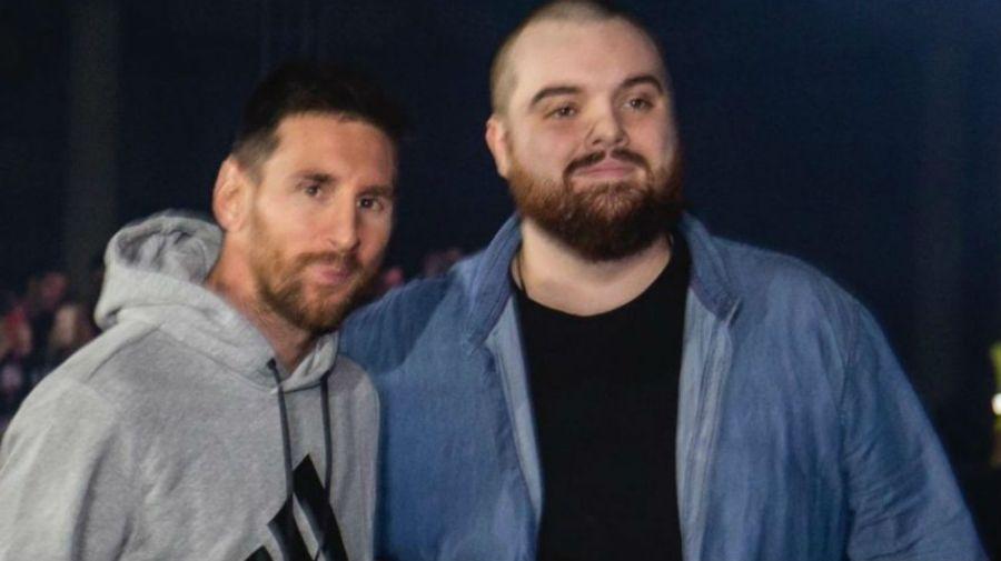 Messi e Ibai Llanos