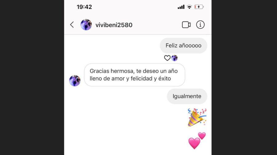 Pampita escrachó a la niñera publicando sus chats privados