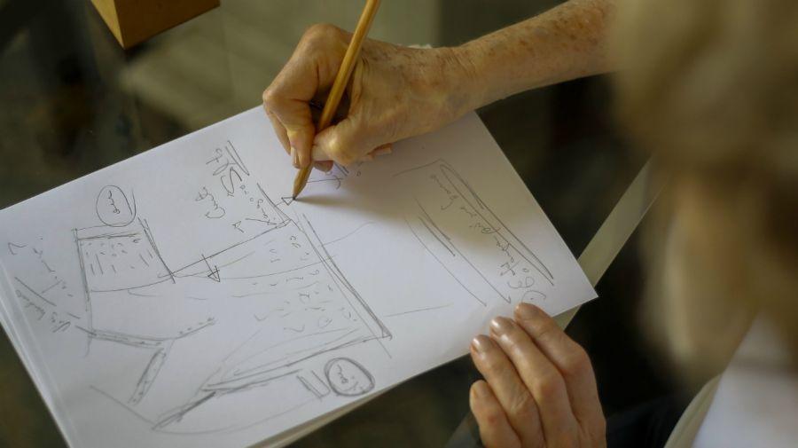 Helena Schargel, modelo de lencería de 80 años, Brasil