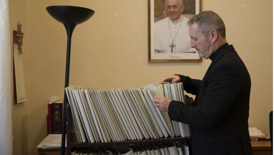 Vatican case files stock