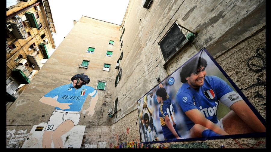 Museo de Maradona en Nápoles