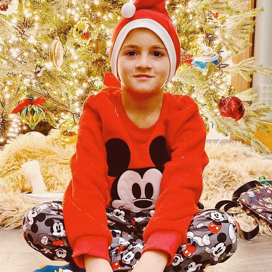 Familia Messi en Navidad