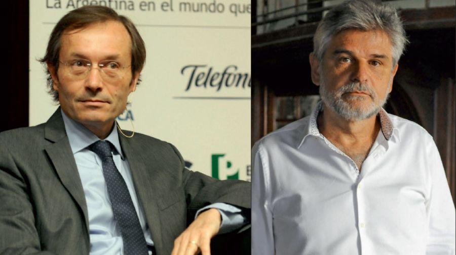 Gustavo Béliz y Daniel Filmus