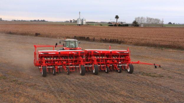 la siembra de soja registró un avance intersemanal de 8,9 puntos porcentuales.