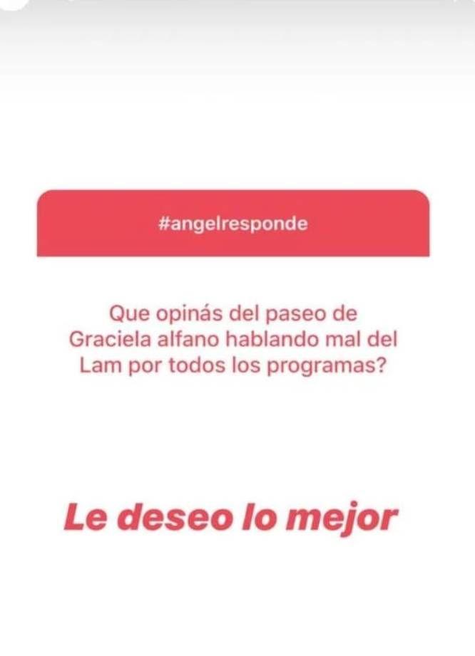 Ángel de Brito le respondió a Graciela Alfano, tras las críticas a su programa