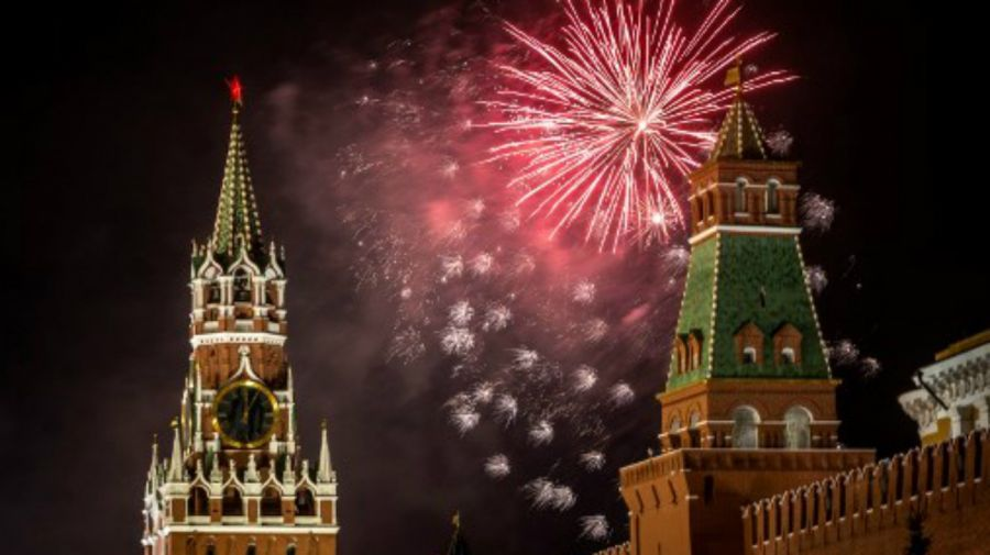 Año nuevo en Rusia