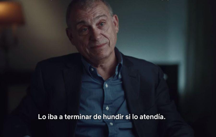 Jaime Stiuso en el documental de Nisman