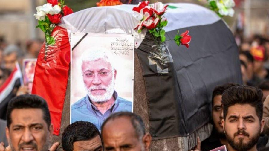 funeral Qassem Soleimani iran iraq g_20190104