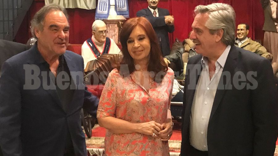 Oliver Stone CFK Cristina Alberto