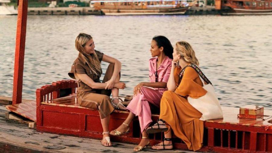 Gwyneth Paltrow, Kate Hudson y Zoe Saldana
