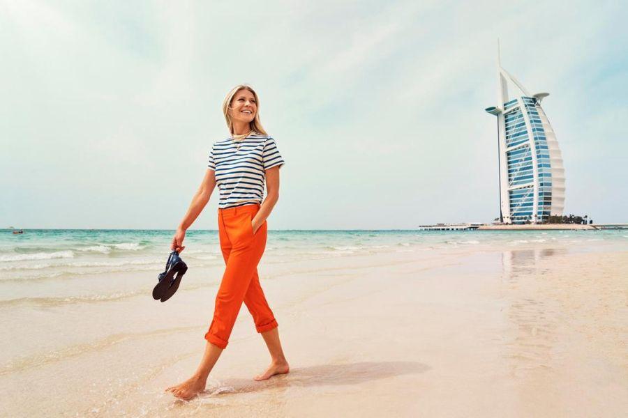 Gwyneth Paltrow, Kate Hudson y Zoe Saldana en Dubai