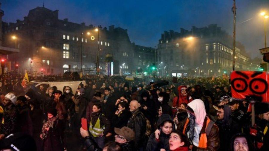 Protestas francia 9012019
