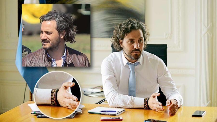 Santiago Cafiero look