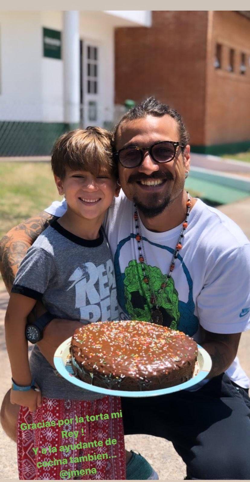 Daniel Osvaldo cumplió años y Jimena Barón lo sorprendió con un regalo