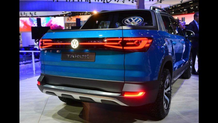 Volkswagen registró el diseño de la Tarok en Brasil