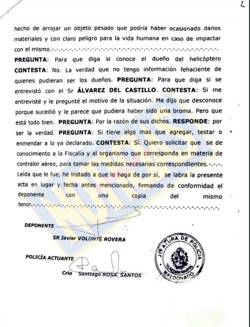 La denuncia del administrador del barrio de Álvarez Castilllo 2