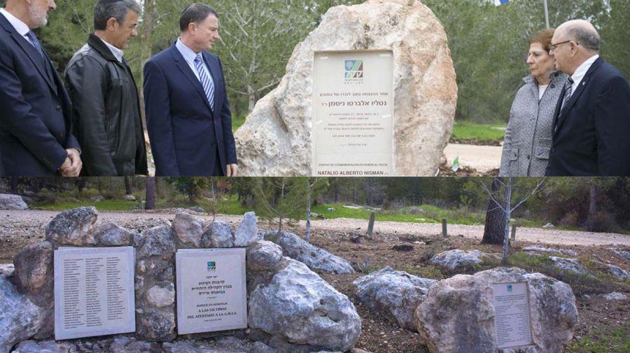 homenajes nisman israel ajn 20201918