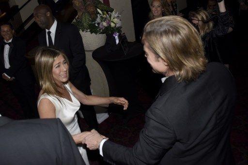 Brad Pitt y Jennifer Aniston, el reencuentro más esperado de Hollywood