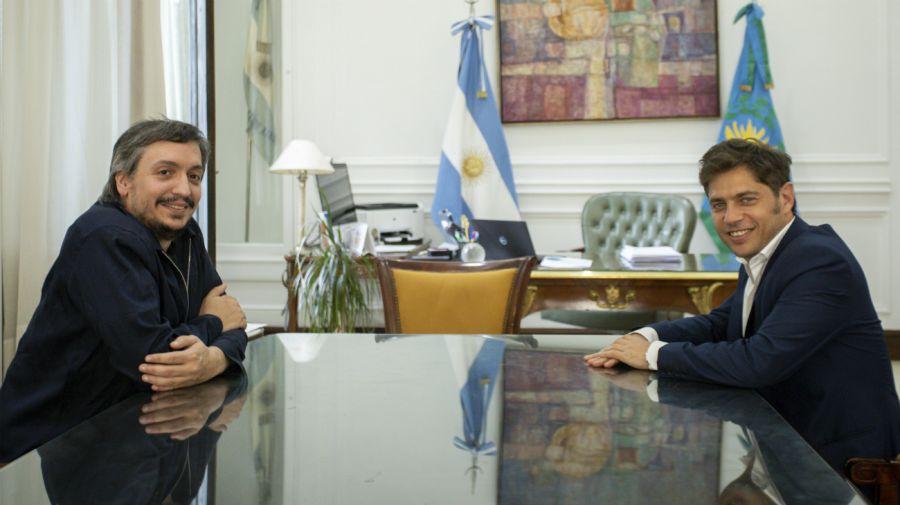 Maximo Kirchner & Axel Kiciloff