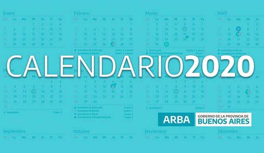 Calendario ARBA 2020
