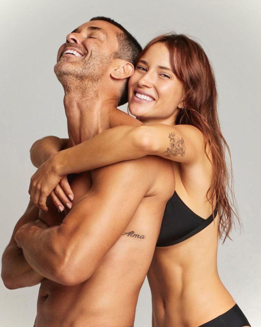 Mariano Martinez y Camila Cavallo
