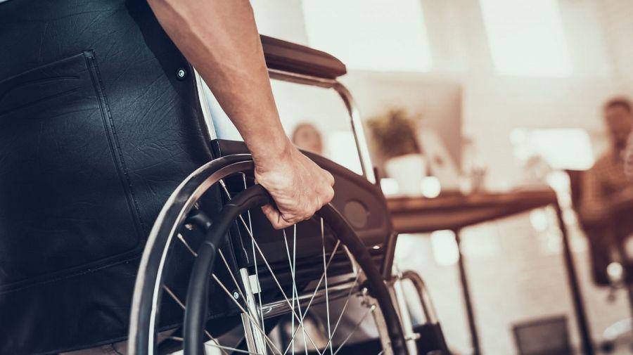 silla ruedas discapacidad