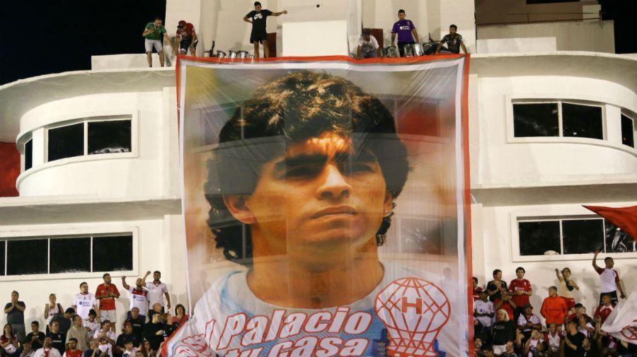 Bandera Maradona Ducó