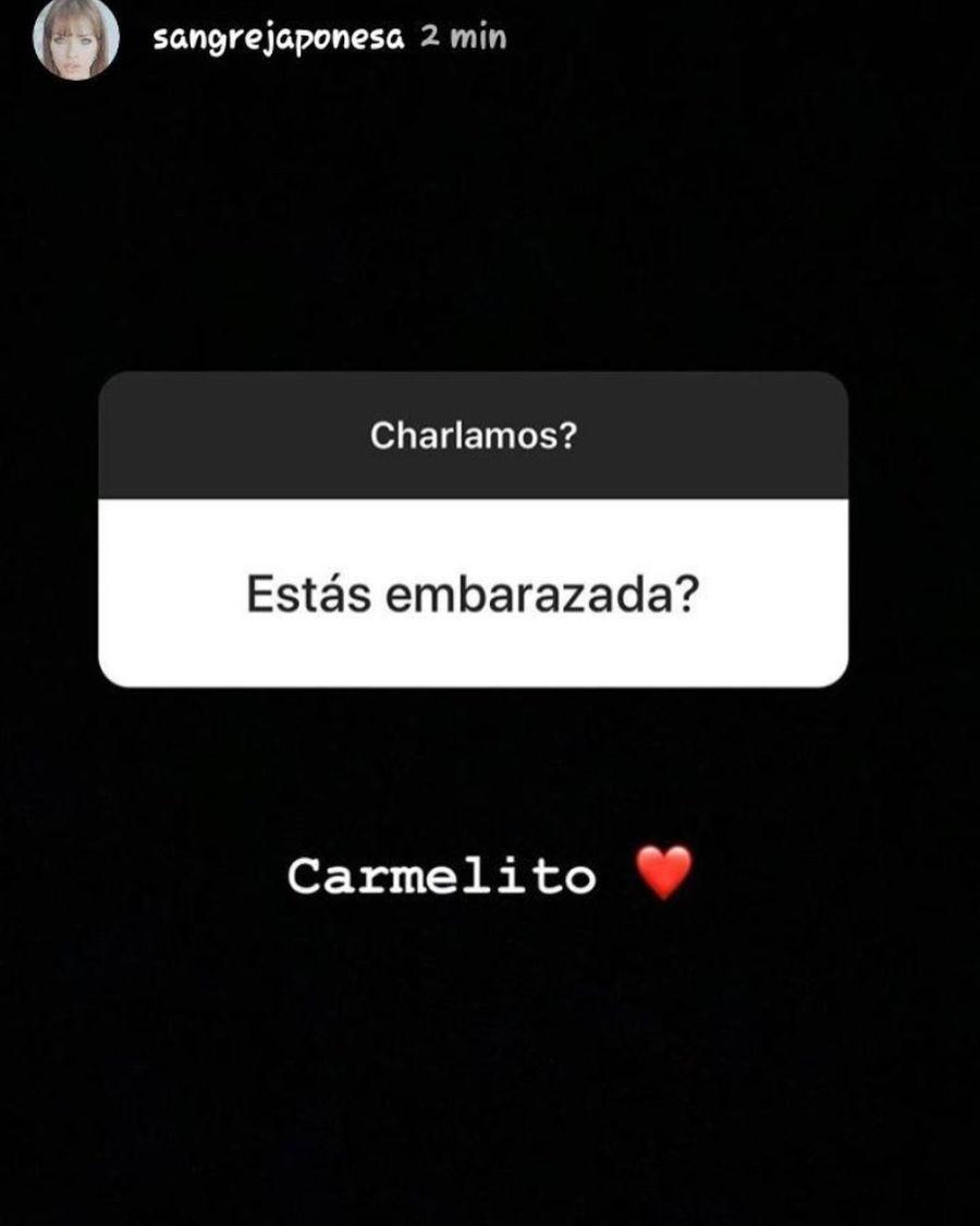 China Suárez confirmó su embarazo pero después lo borró