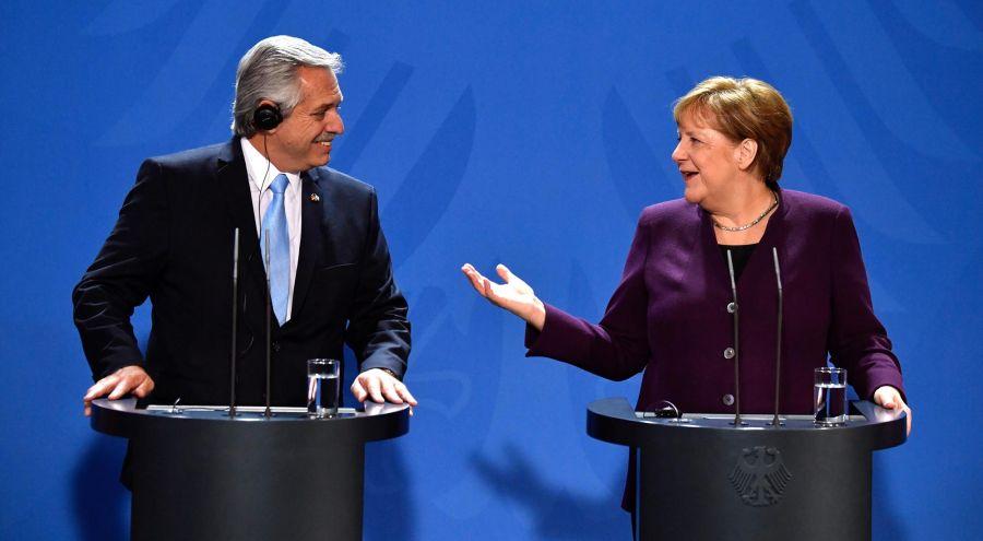 Fernández y Merkel 20200203