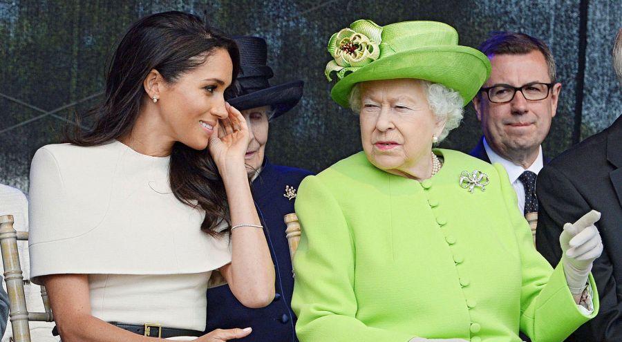 Isabel II y Meghan Markle: el último gesto de la reina