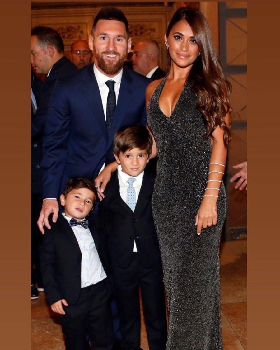 La postal más tierna de Lionel Messi con su esposa, Antonella y sus tres hijos