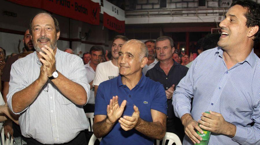 Sanz fue uno de los dirigentes radicales en la cumbre de Mar del Plata.