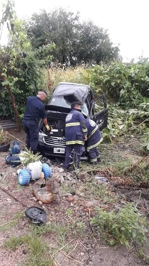 Accidente de colaboradores de