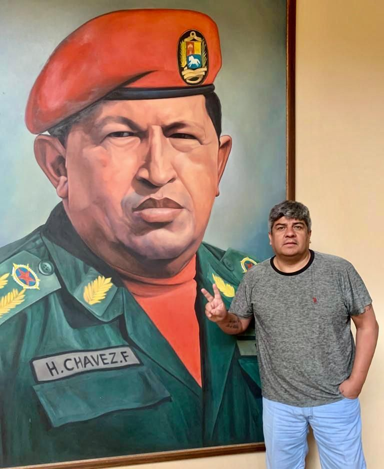 Pablo Moyano en Venezuela