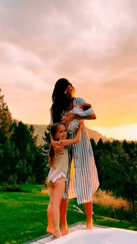 Zaira Nara compartió la primera foto de su bebé recién nacido con Malaika