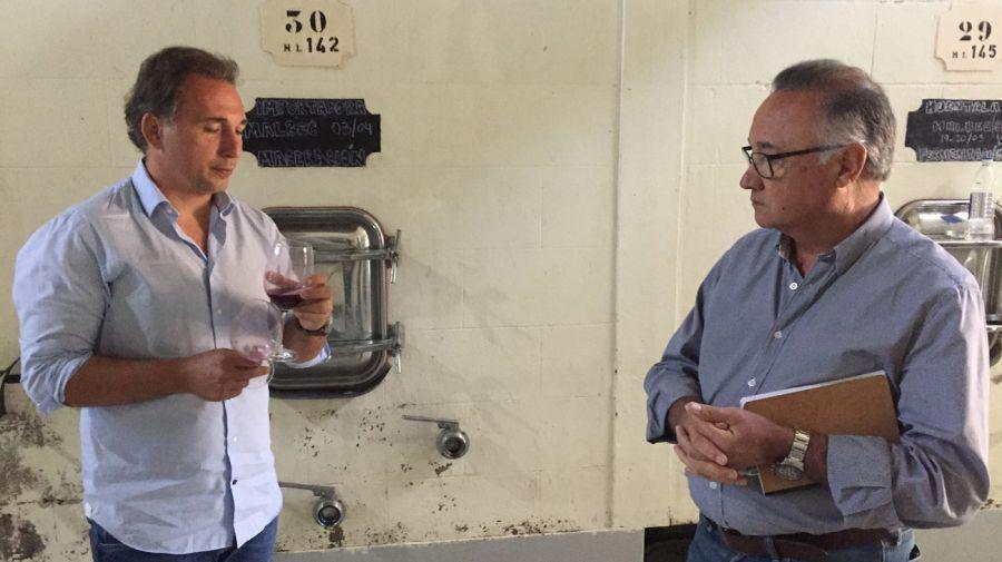 Diego Mastrantonio y José Galante