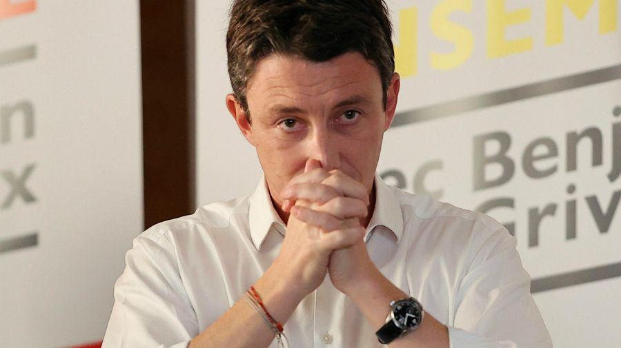 Benjamin Griveaux, candidato a la alcaldía de París y ex vocero de Macron.