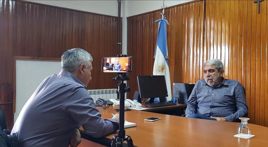 Entrevista a Aníbal Fernández 20200214