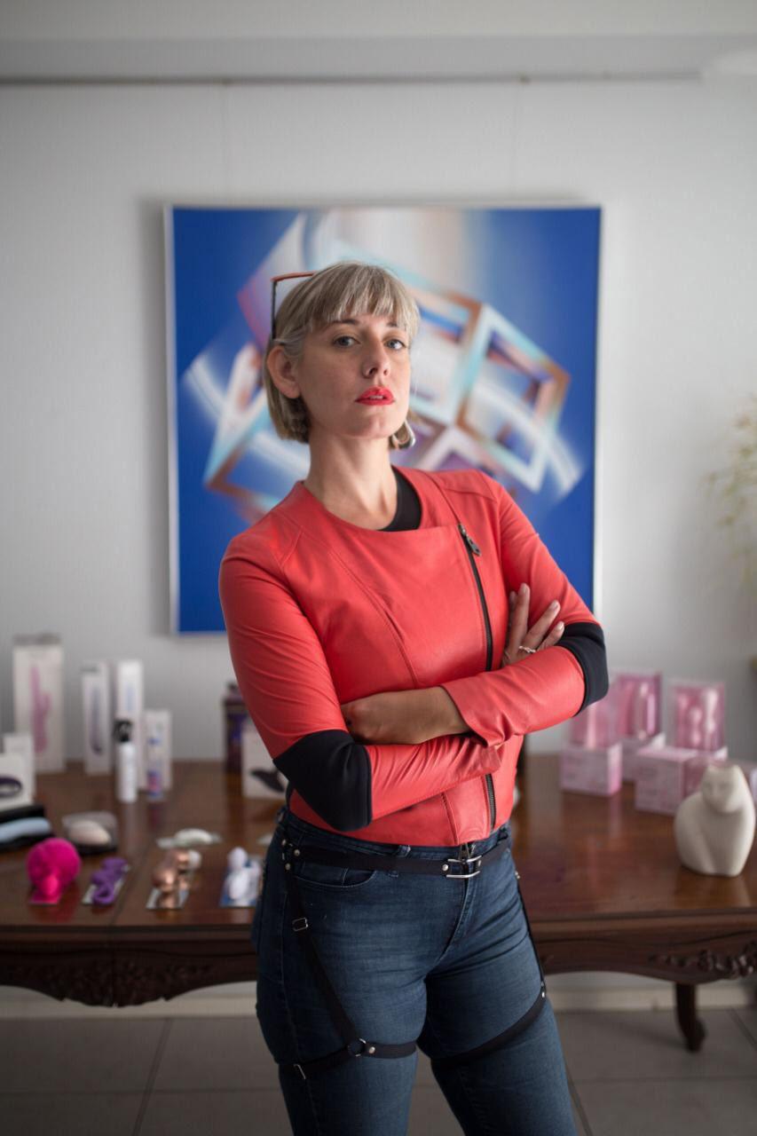 Francesca Gnecchi la creadora de Erotique Pink