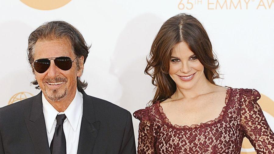 Lucila Solá y Al Pacino